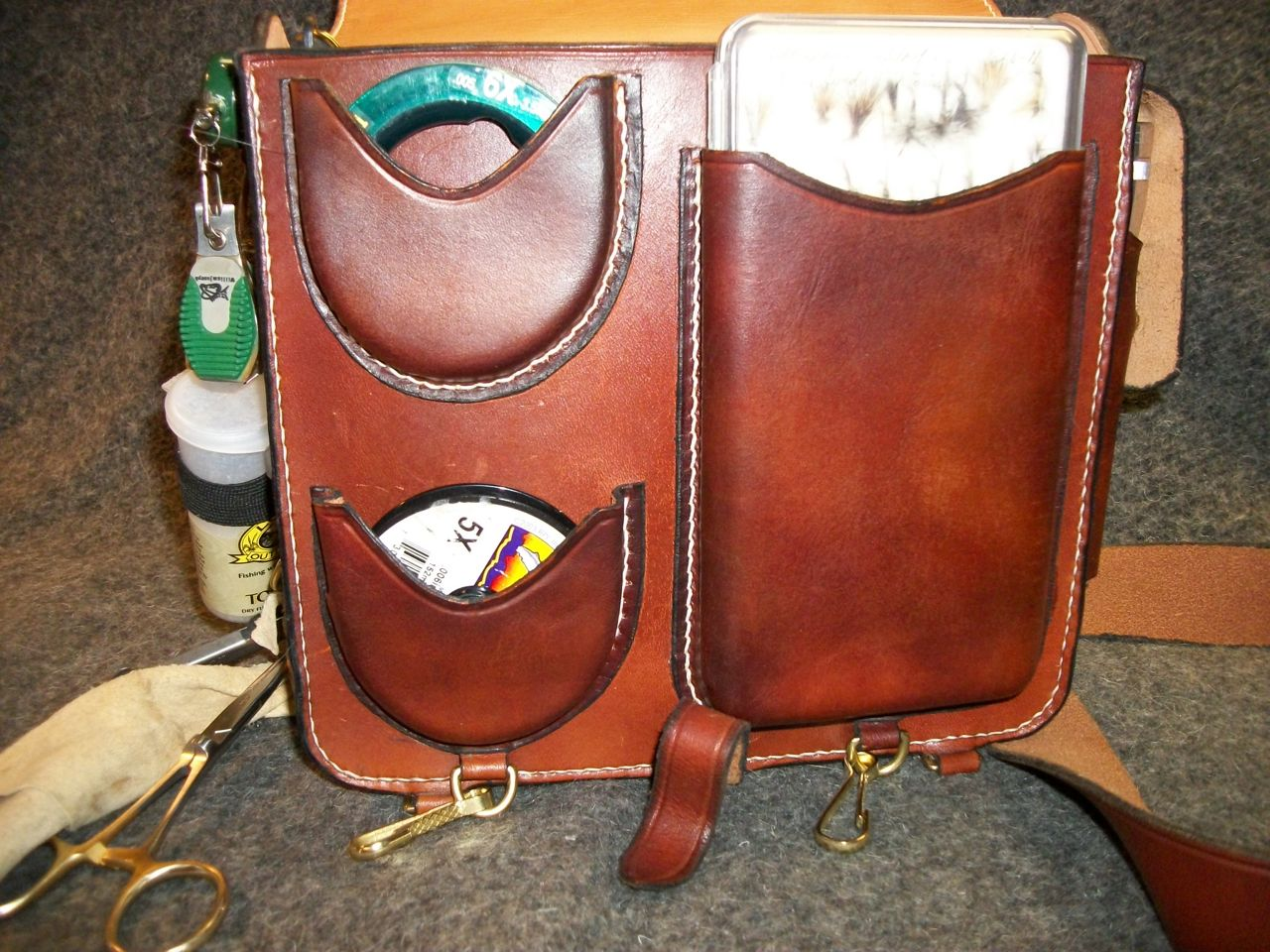 James Acord S Leather All Hand Made Fly Fishing Equipment